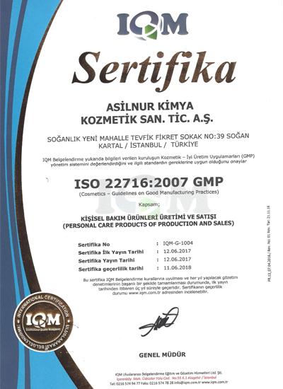 IQM sertifika